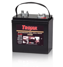 Trojan 6V-AGM 6 Volt Battery Free Delivery to most locations