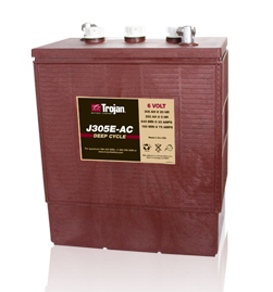 Trojan J305E-AC Deep Cycle Battery Free Delivery most locations in the lower 48*.