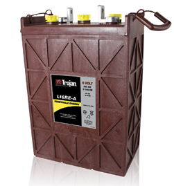 Trojan L16RE-A 325 AH Deep Cycle Battery Free Delivery to many locations in the Northeast