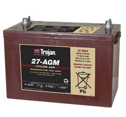 Trojan Group 27AGM 12 Volt Battery Free Delivery most locations in the lower 48*.