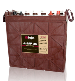 Trojan J185P-AC Deep Cycle Battery, Free Delivery to many locations in the Northeast.