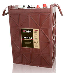 Trojan L16P-AC Deep Cycle Battery, Free Delivery to many locations in the Northeast.