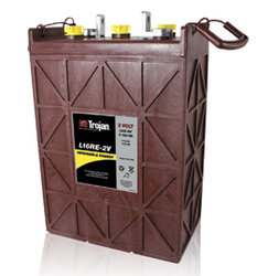 Trojan L16RE-2V 1110 AH Deep Cycle Battery Free Delivery to many locations in the Northeast.