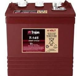 Trojan T-145 Golf cart Battery Free Delivery to most locations in the lower 48 States.