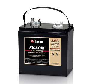 Trojan 6V-AGM 6 Volt Battery Free Delivery most locations in the lower 48.