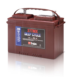 Trojan 27 TMX Deep Cycle Battery, Free Delivery to many locations in the Northeast.