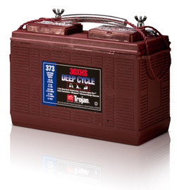 New Trojan 30XHS 12 Volt Deep Cycle Golf Cart Battery Free Delivery to many locations in the Northeast.
