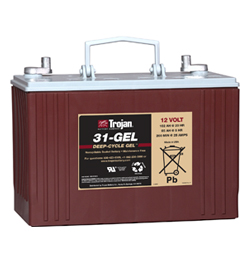 Trojan 31-GEL 12 Volt Deep Cycle Battery Free Delivery most locations in the Northeast States.