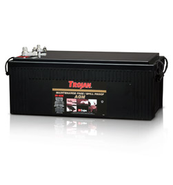 Trojan 8D-AGM 12 Volt Battery Free Delivery Free Delivery to many locations in the Northeast.
