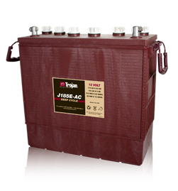 Trojan J185E-AC Deep Cycle Battery, Free Delivery to many locations in the Northeast.