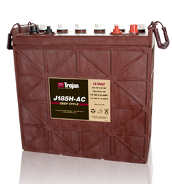 Trojan J185H-AC Deep Cycle Battery, Free Delivery to many locations in the Northeast.