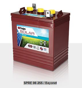 Trojan T-105RE SPRE 06 255 Deep Cycle Battery Free Delivery most location in the lower 48*.