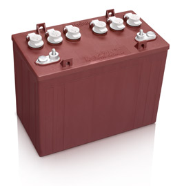 Trojan T-1275 Deep Cycle Battery Free Delivery to most locations in the lower 48 States.