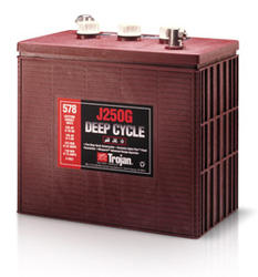 Trojan J250G Deep Cycle Battery, Free Delivery to many locations in the Northeast.